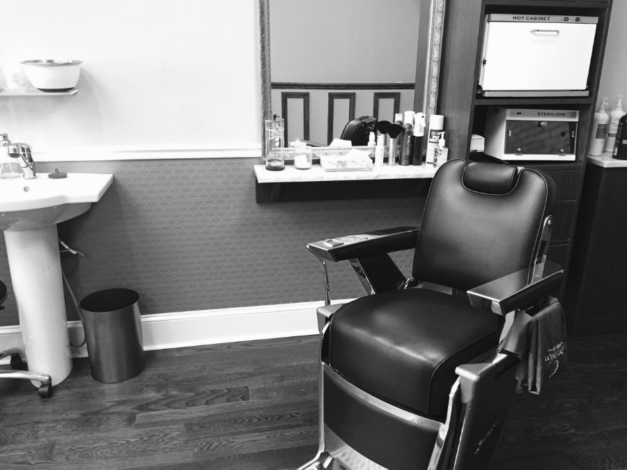 Authentic Vintage Barber Chairs and Equipment