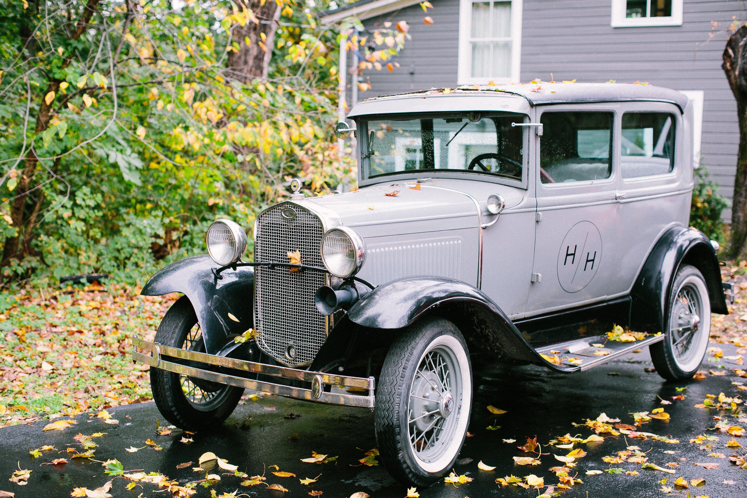 Vintage Car for Photo Opps