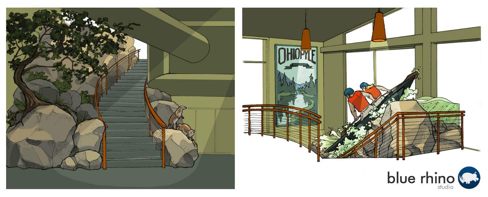 Ohiopyle Staircase Design