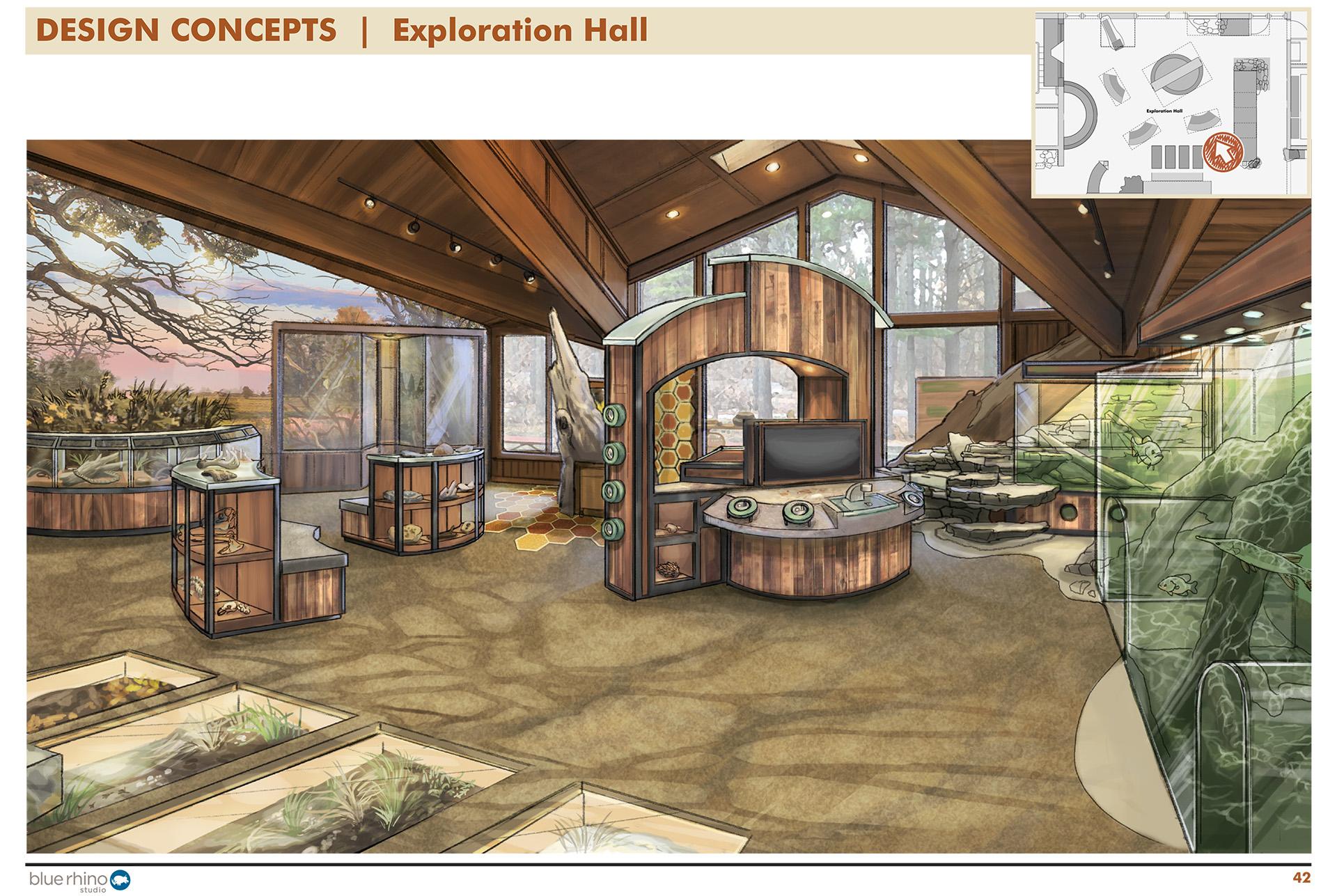 Exploration Hall, Window View 2