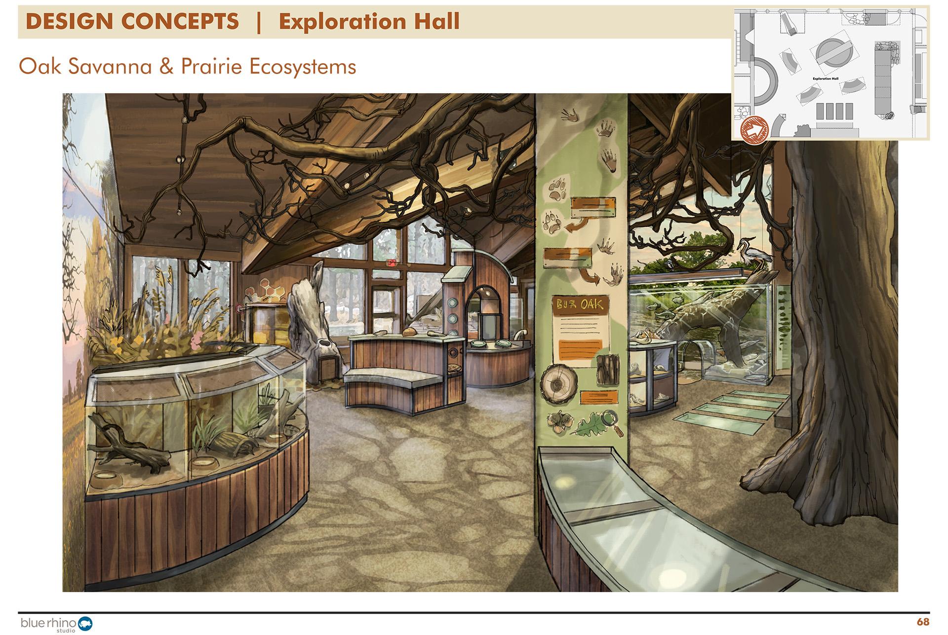 Exploration Hall, Window View