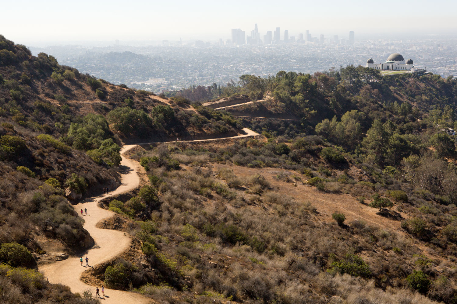 Los Angeles, Griffith Observatory Hike