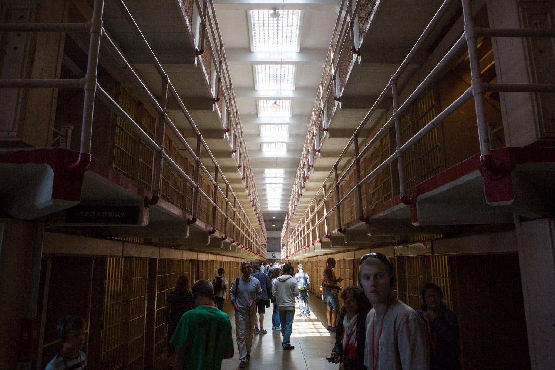 Alcatraz Jail House