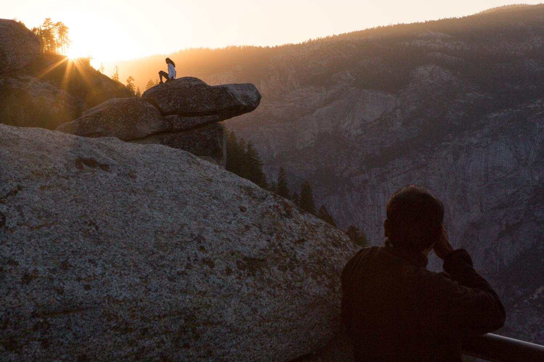 Sunset at Glacier Point, Yosemite
