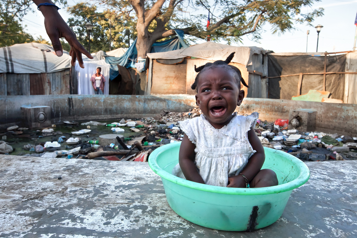Many of Gramothe's residents have family members in Port-au-Prince and other large cities where the 2010 earthquake's consequences are still manifest almost everywhere.