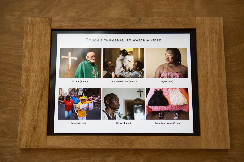Sondheim Exhibition 2016, Baltimore Maryland, Eric Kruszewski, LGBT Catholics, Saint Matthew Catholic Church