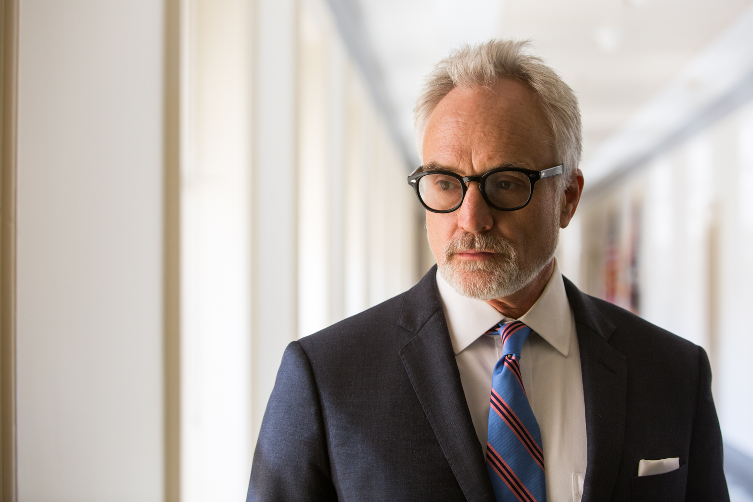 Bradley Whitford poses for a portrait during  National Geographic Channel 's production of  Years of Living Dangerously .