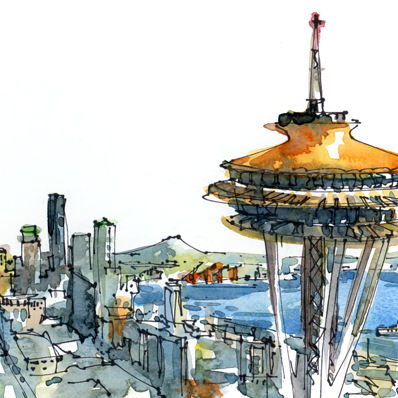 CUSTOM ILLUSTRATION: City