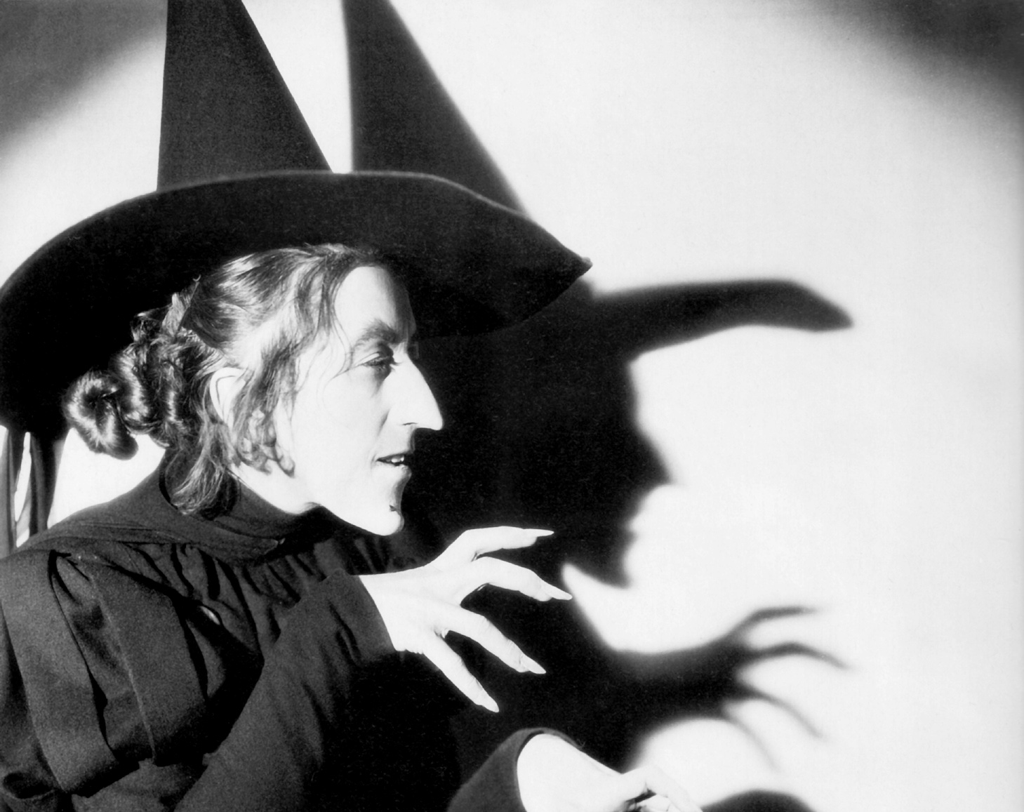 Epic photo of Margaret Hamilton as The Wicked Witch of the West.