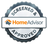 We have passed the HomeAdvisor screening and are proud to be a member of their team!