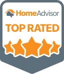 "We are both grateful and proud to be considered one of HomeAdvisor's ""Top Rated"" Landscapers!"
