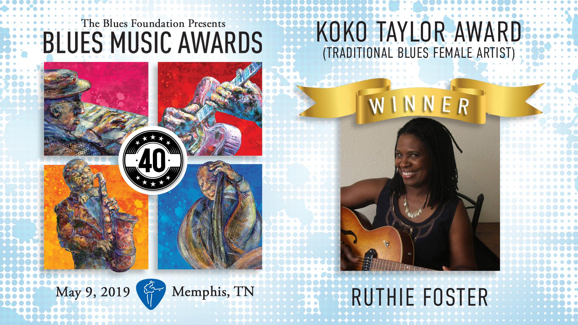 2019 BMA - Koko Taylor Winner_Ruthie Foster.jpg
