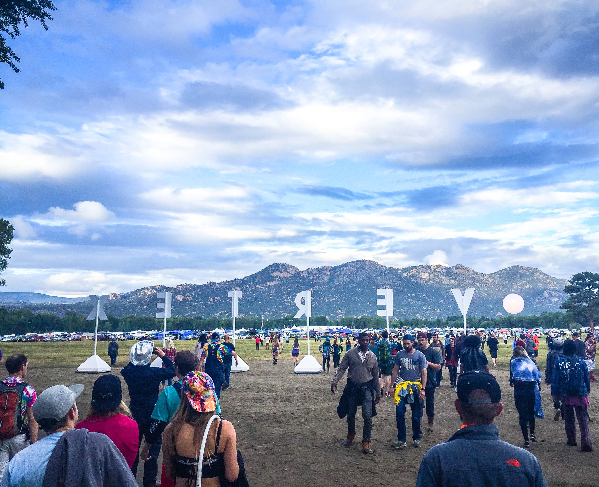 Good music and mountain views at the Vertex Festival