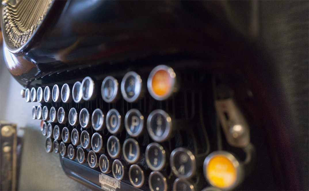 Bonfire Effect typewriter