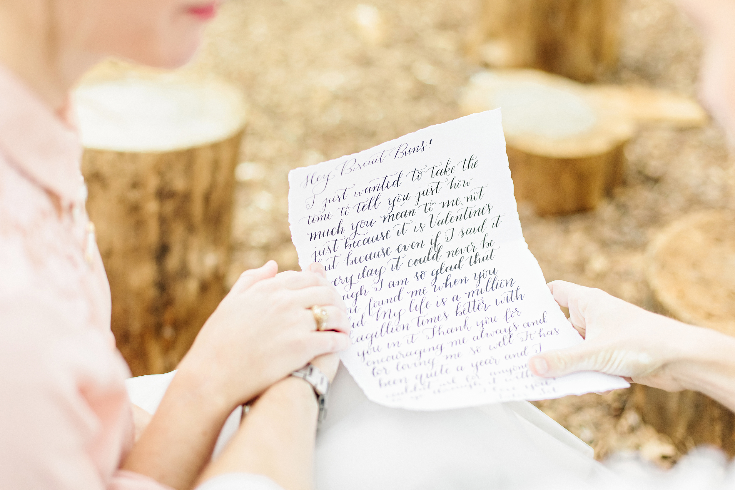 Houston Calligraphy Love Letter Session | Joyful Ink Calligraphy | Cassie Schott Photography
