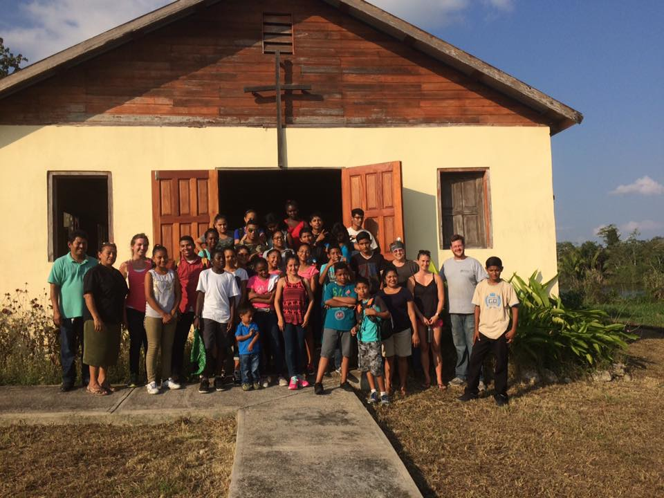 February's youth retreat in Selena Village