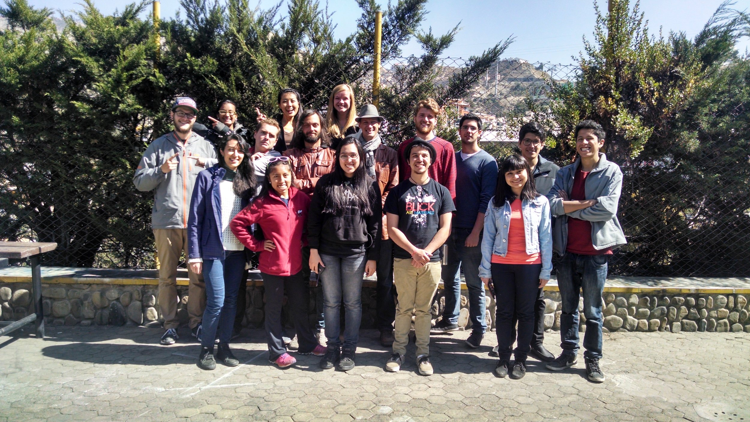 "The International Design Clinic partnered with students from  Universidad Católica Boliviana ""San Pablo"" - La Paz"