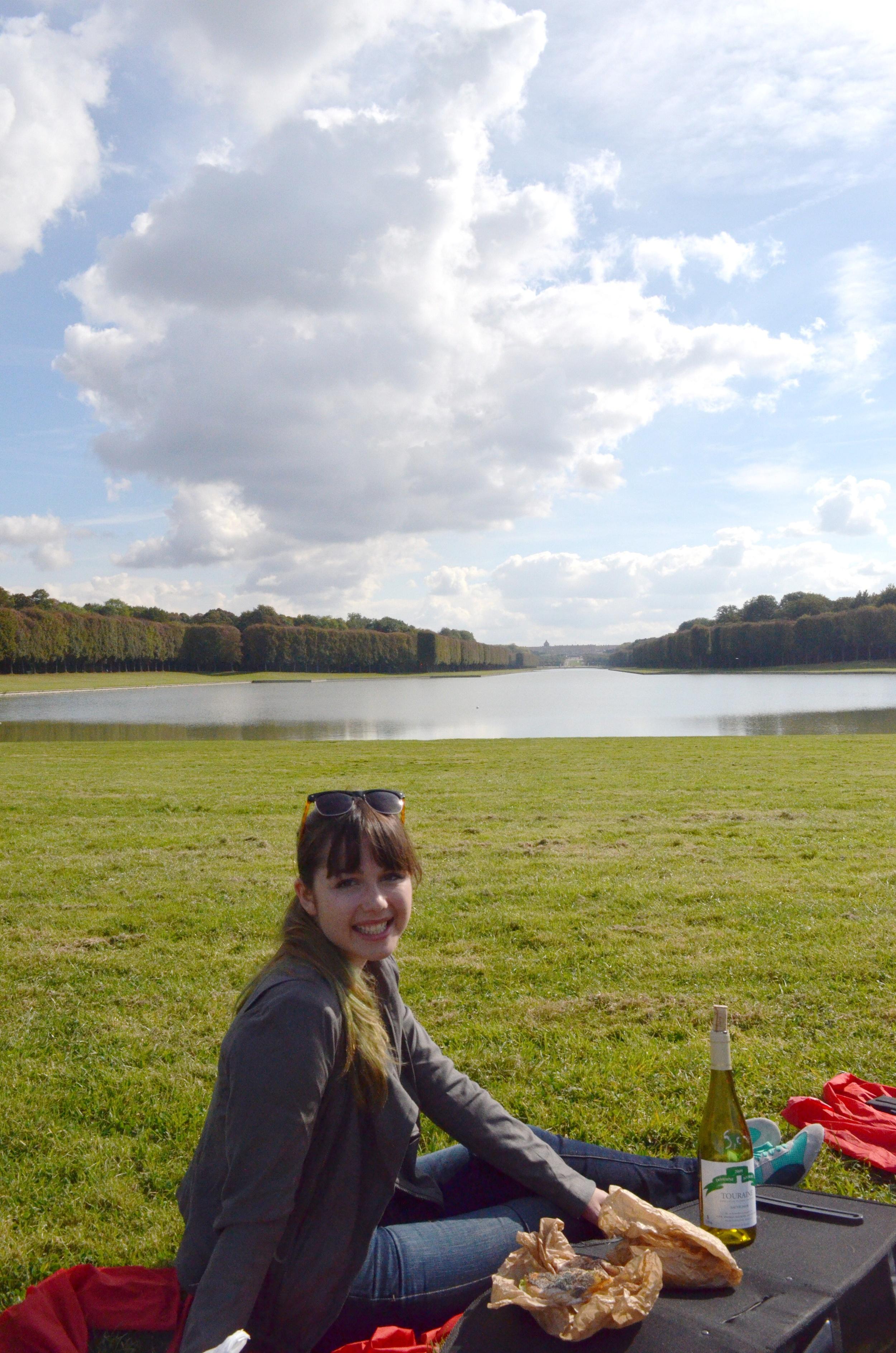 a picnic at Versailles...