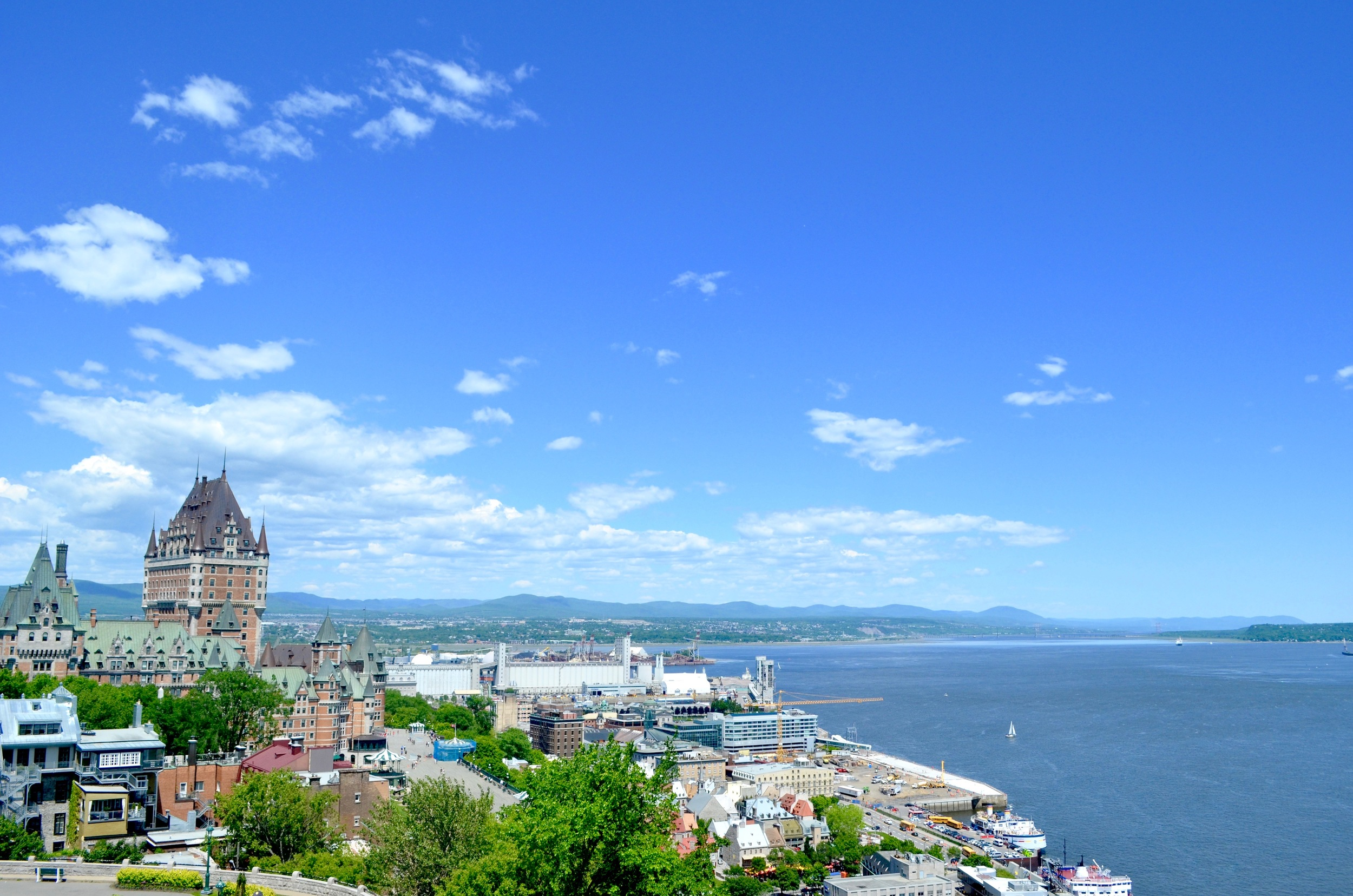 The view from the Citadelle