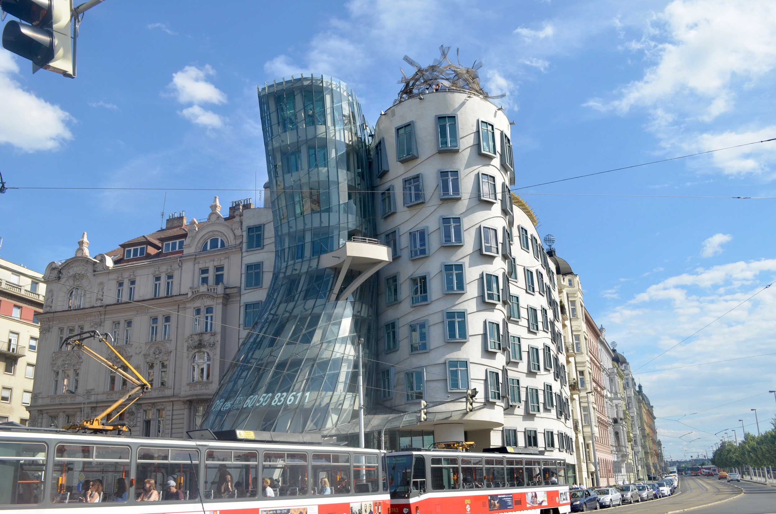 Check out the Dancing House while you're in Prague--plus the views from the (surprisingly affordable) cafe at the top are not to be missed!