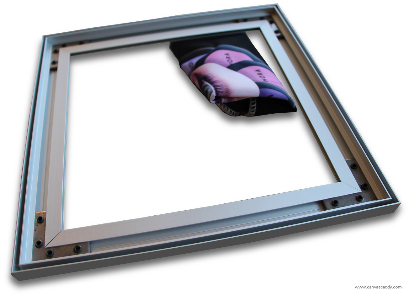Silicone Edge Graphics (SEG) Fabric Frame