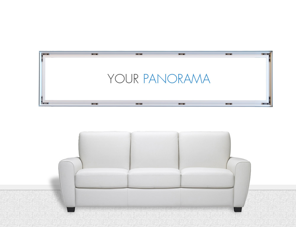 panorama canvas prints