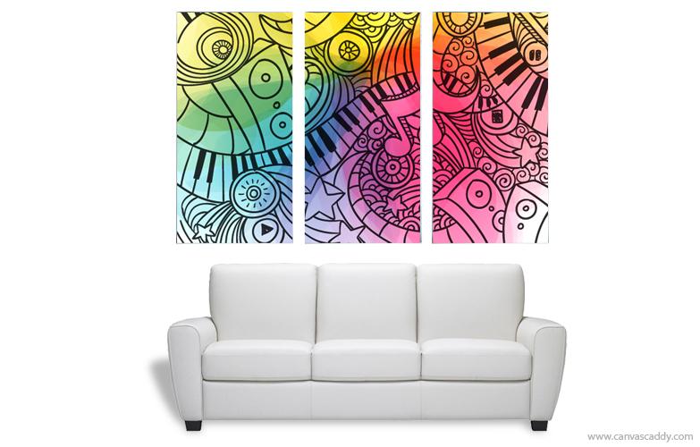 Multi Panel Canvas Prints