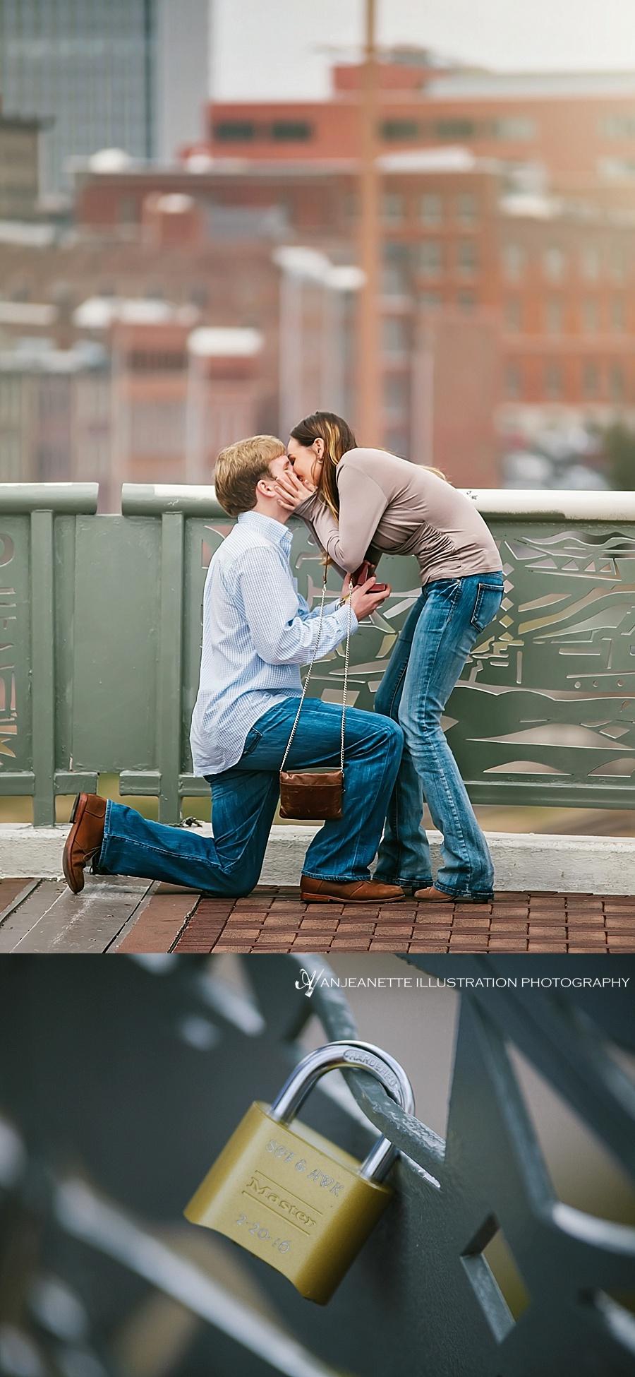 Nashville Artistic Proposal Photographer Anjeanette Illustration Photography