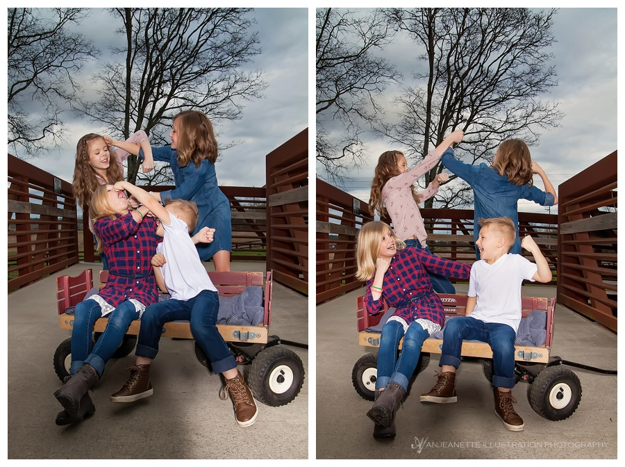 Kiddos love silly photos, why not have some fun to loosen up before or after a session?