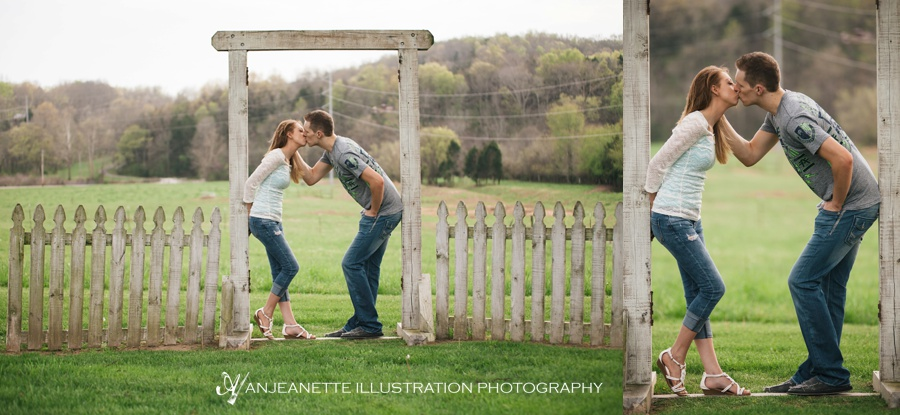 Nashville Area Artistic Wedding Photos by Photographer Anjeanette Illustration Photography
