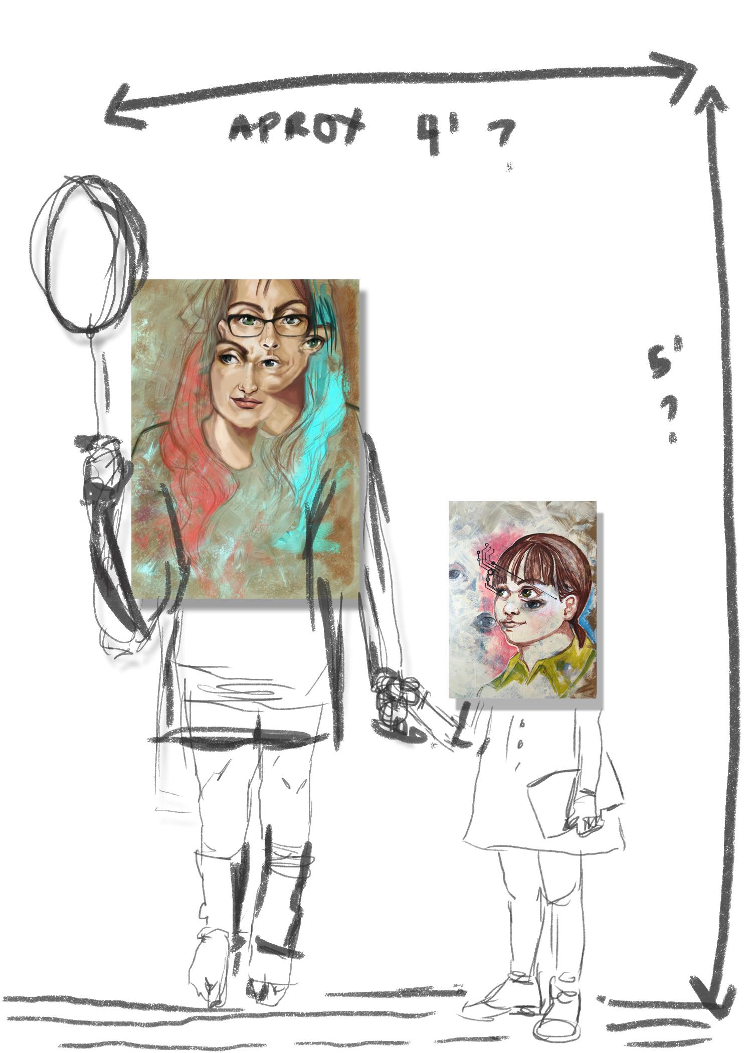 Nashville Artist Anjeanette Illustration