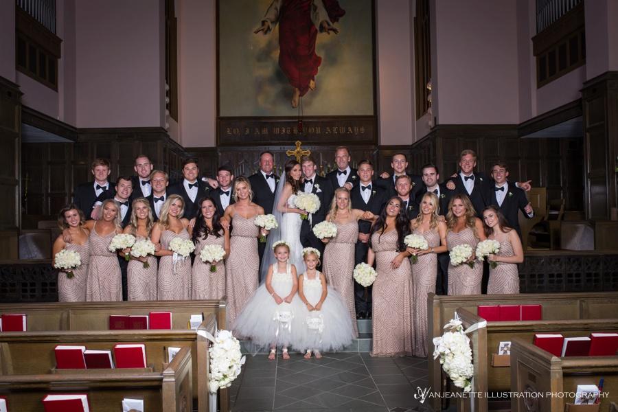 Nashville Parthenon Wedding Artistic Wedding Photographer Anjeanette Illustration Photography