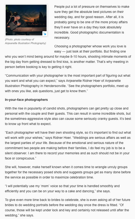 how to choose a nashville wedding photographer tennessean