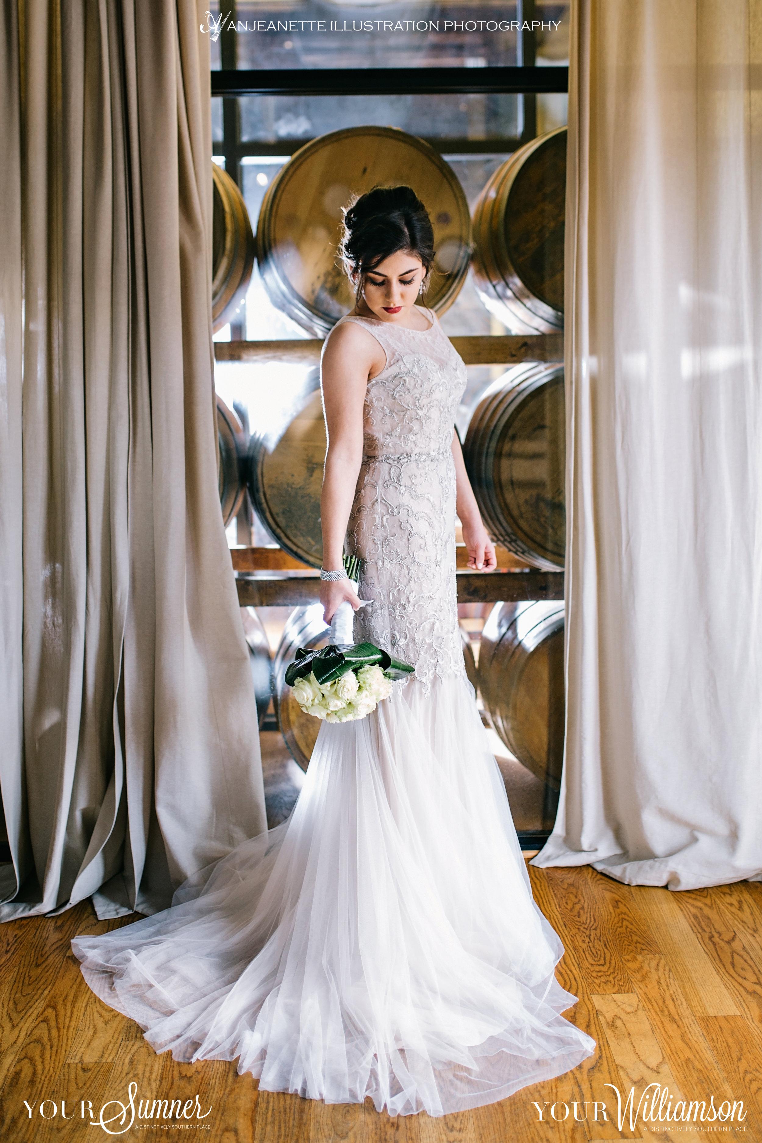 Hendersonville & Nashville Tennessee Wedding Photographer 37075 Anjeanette Illustration Photography