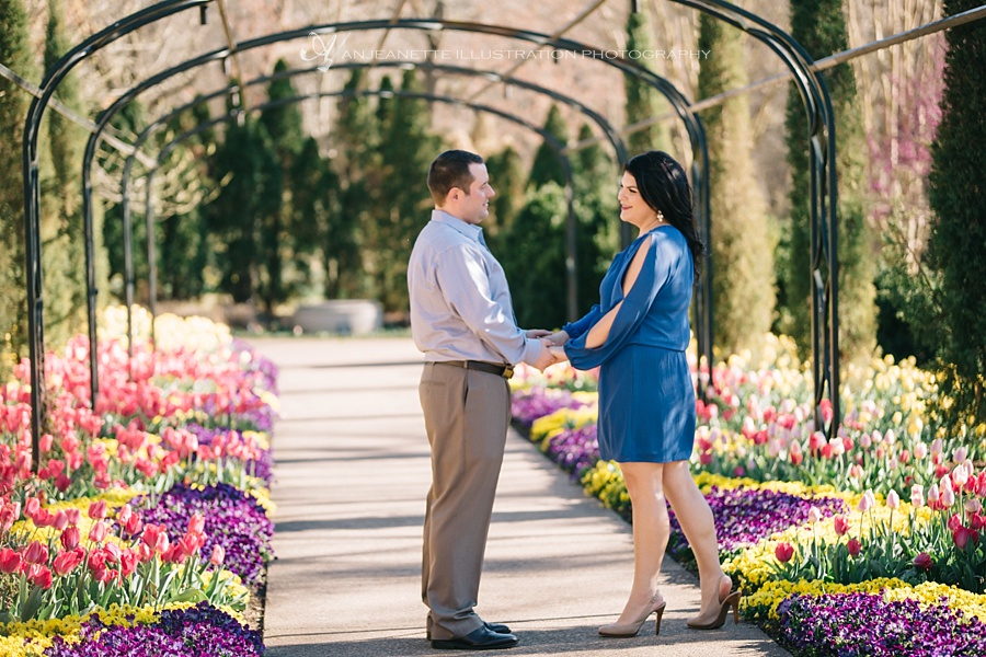 Cheekwood botanical garden portrait photographer Anjeanette Illustration Photography