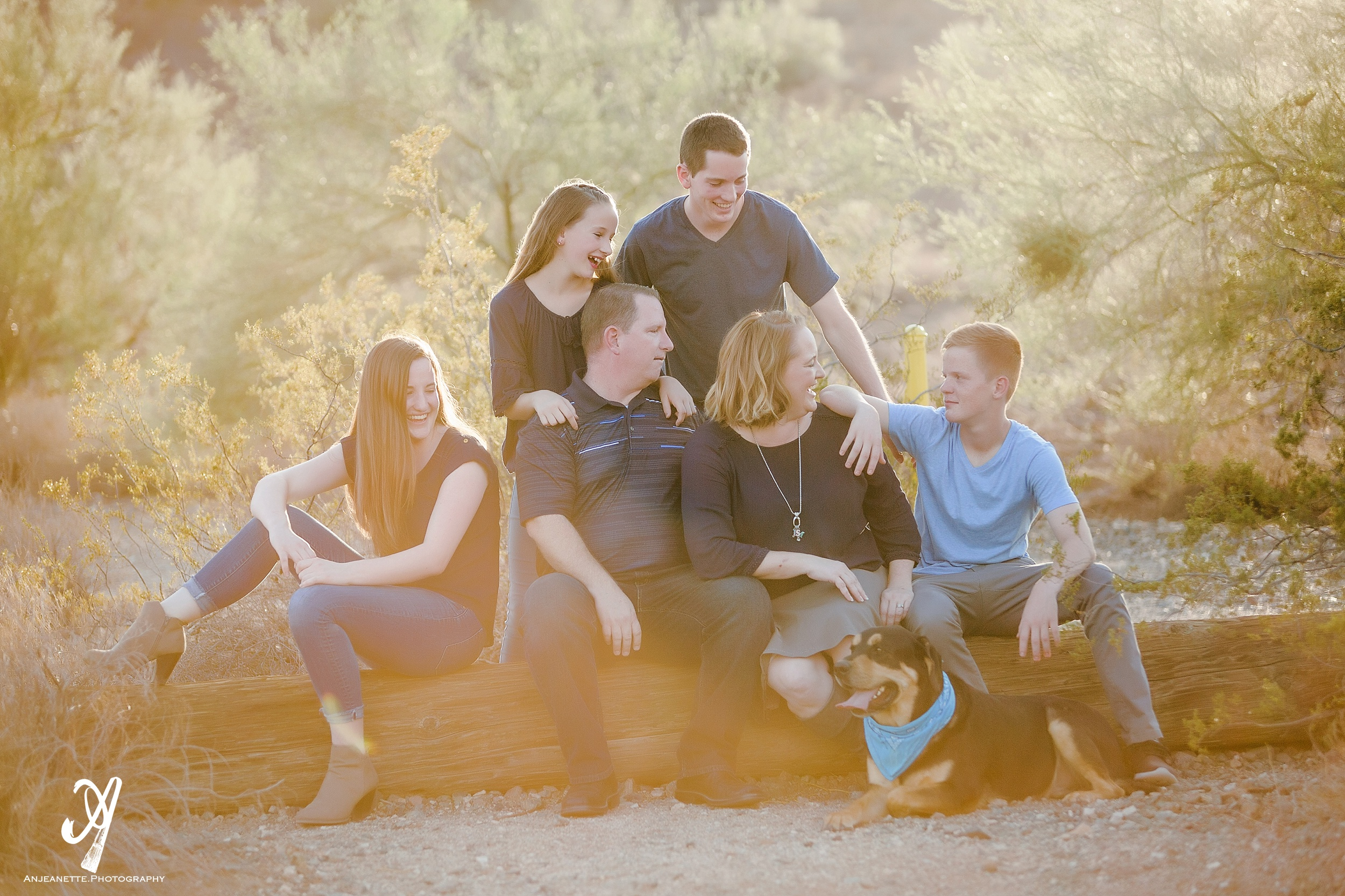 family pictures Peoria & Phoenix Arizona by children photo portrait artist Anjeanette Photography Glendale Az