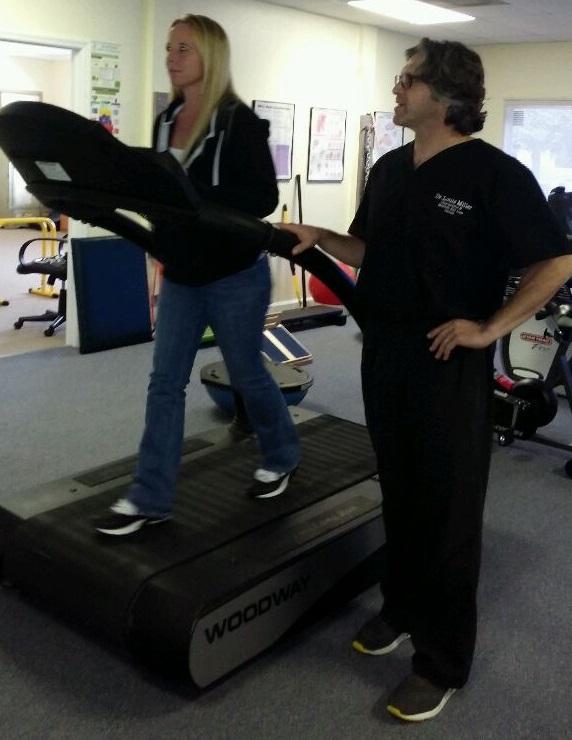 Woodward Treadmill running