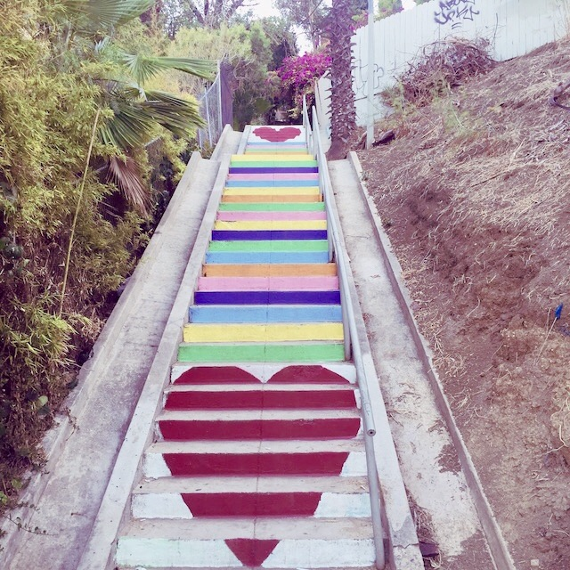 Silver Lake Stairs
