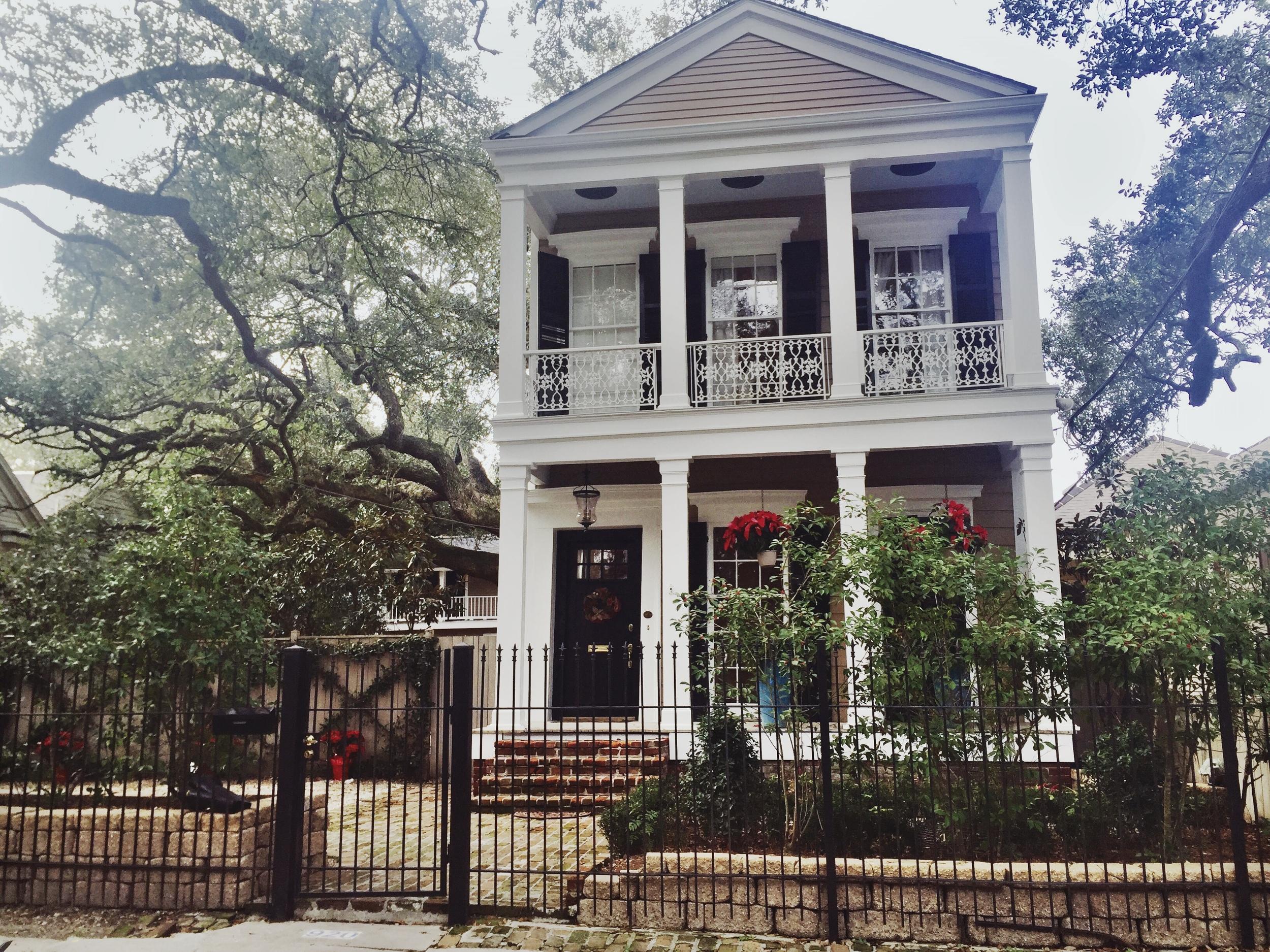 Garden District New Orleans Home