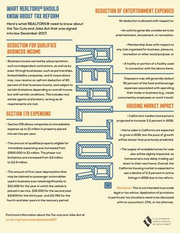 Realtor ® & Tax Reform