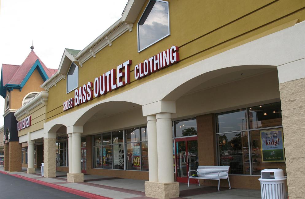 Updated Shopping Center