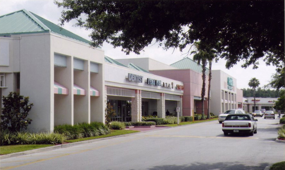 Outdated Shopping Center