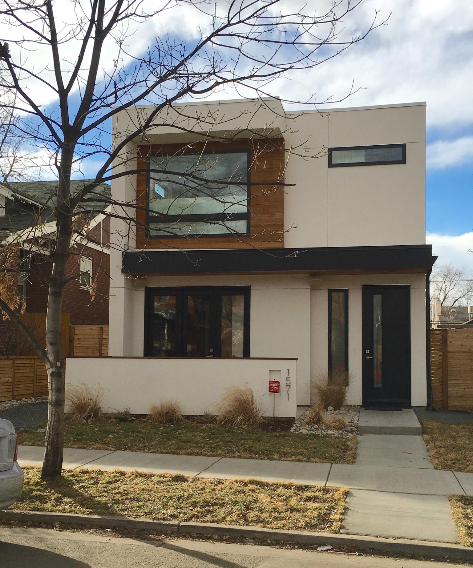 New Modernist Home - standing apart