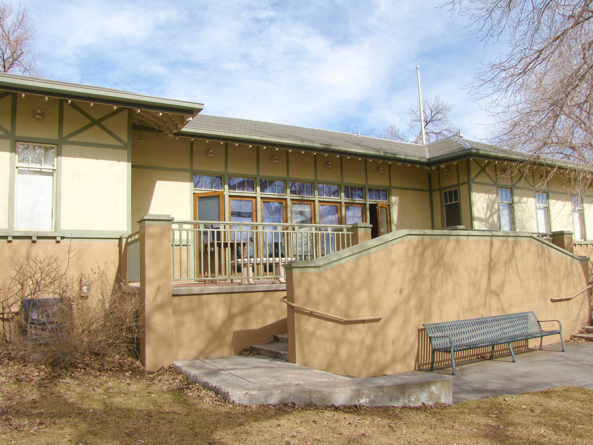 Dos Chappell Bathhouse at Smith Lake-Washington Park, Denver