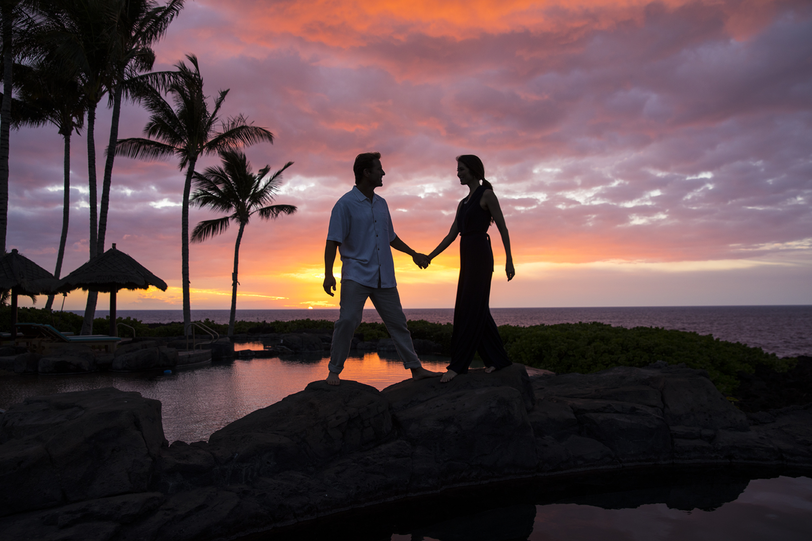 The North Kohala Coast is filled with romantic spots for couples searching for a secluded beach, a romantic oceanside dinner, or those looking for adventure.