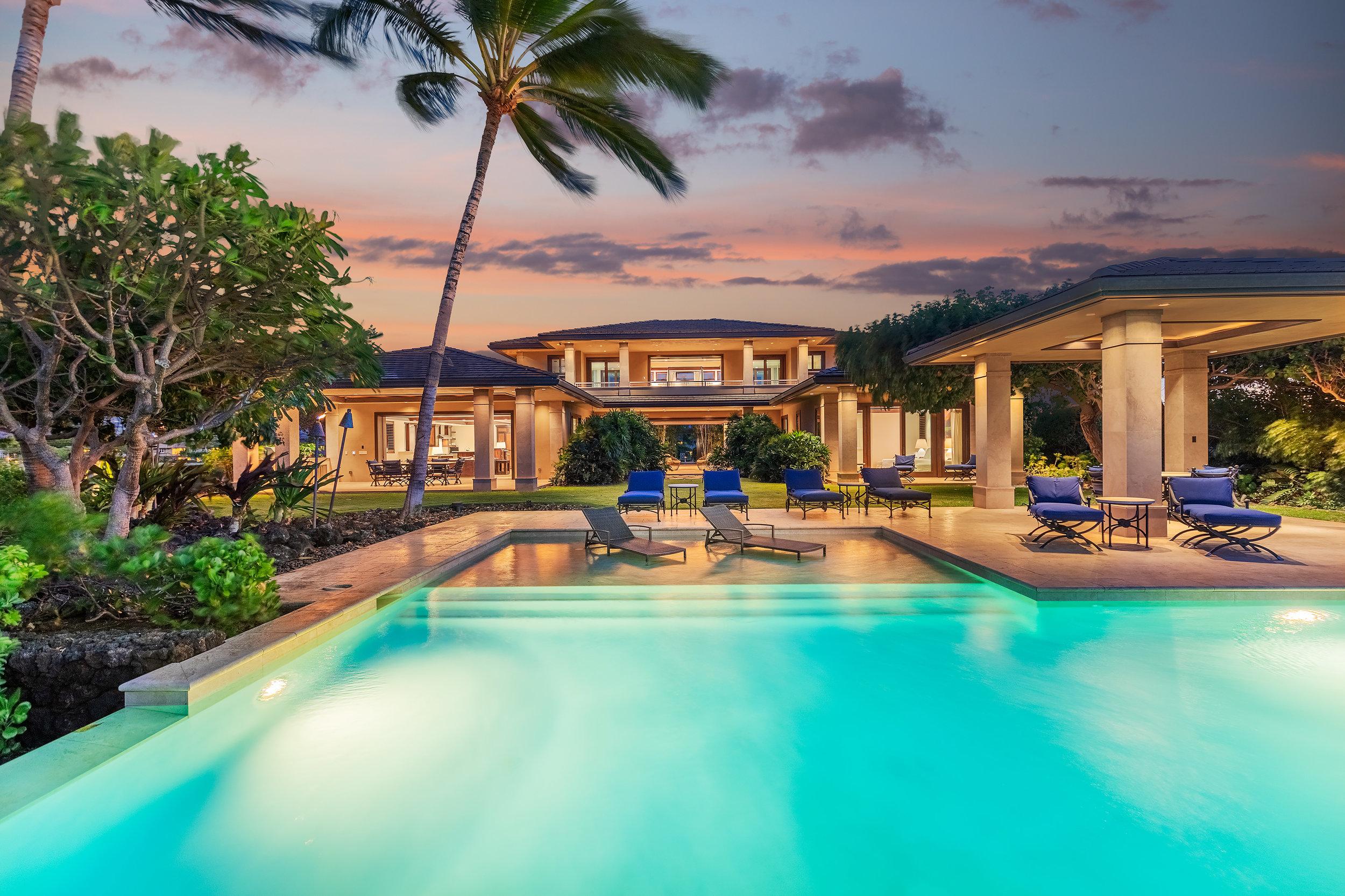 Ke Kailani Lot 10 | $4.2 million | 4BR/5.5 BA | 5,326 interior sq. ft. | 1.13 acre lot |    MLS #627366
