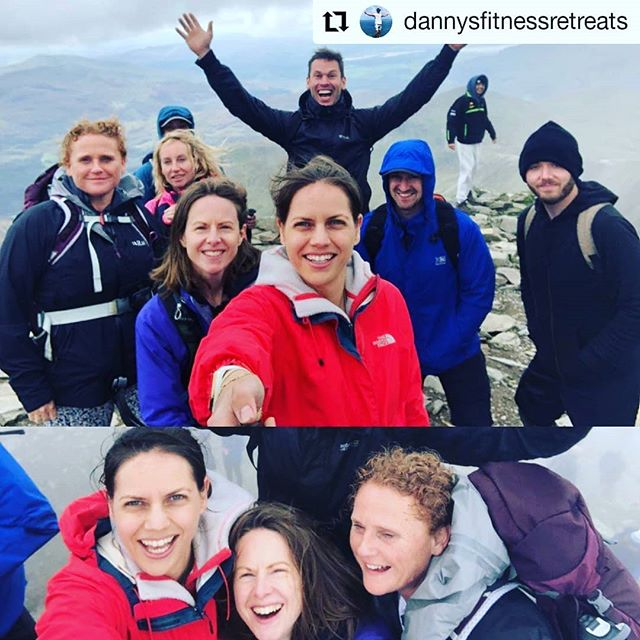 Blackheath Studio Clients Climbing Snowdon with us, here is a photo they took at the summit! Great times