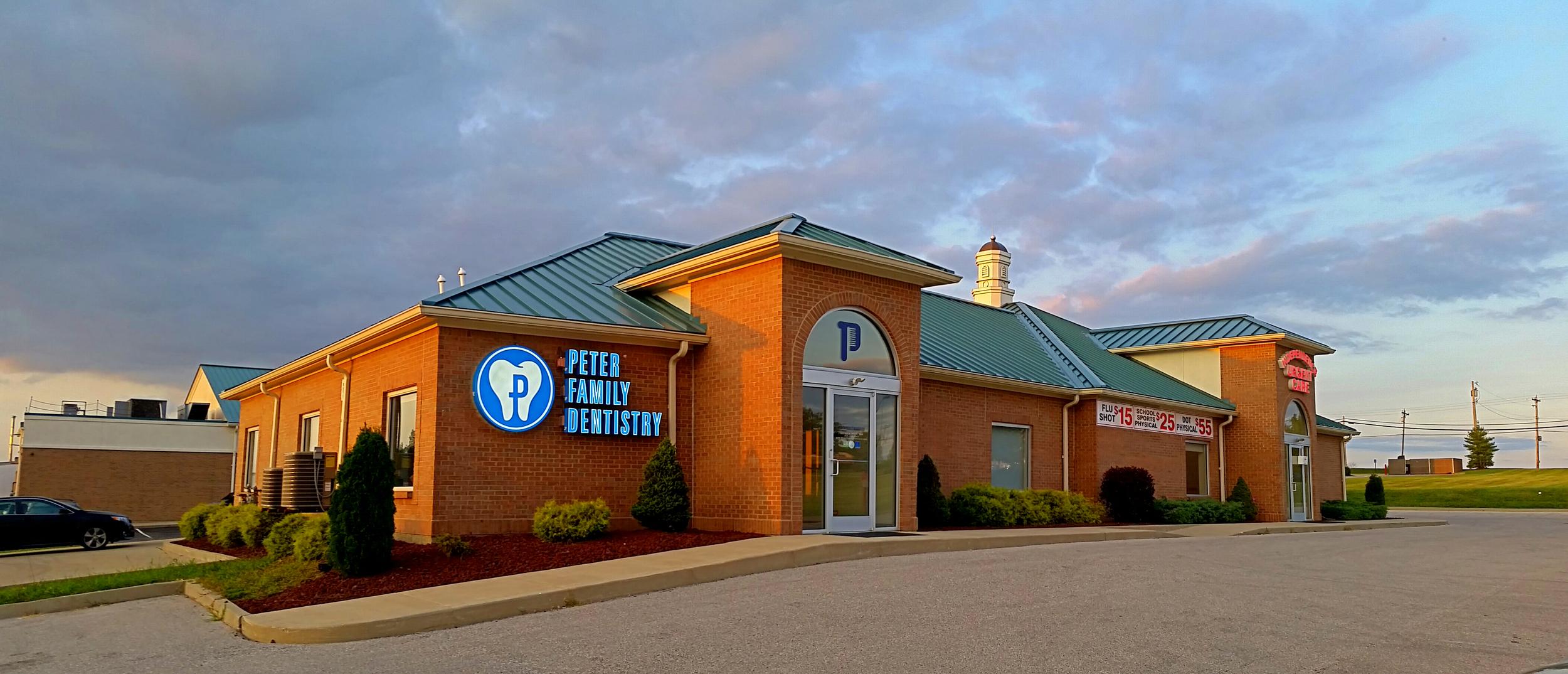Peter Family Dentistry Exterior