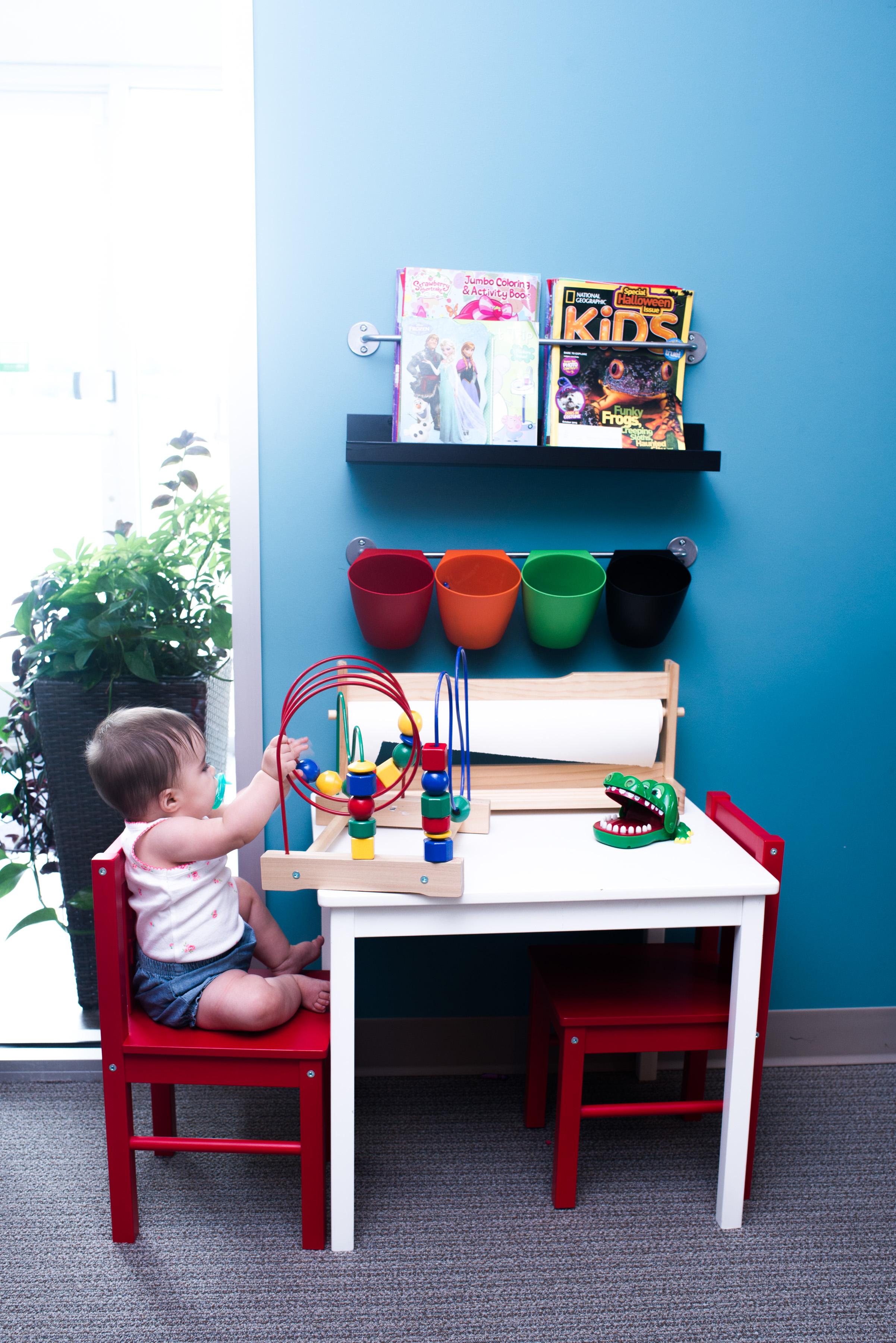 Peter Family Dentistry Playroom