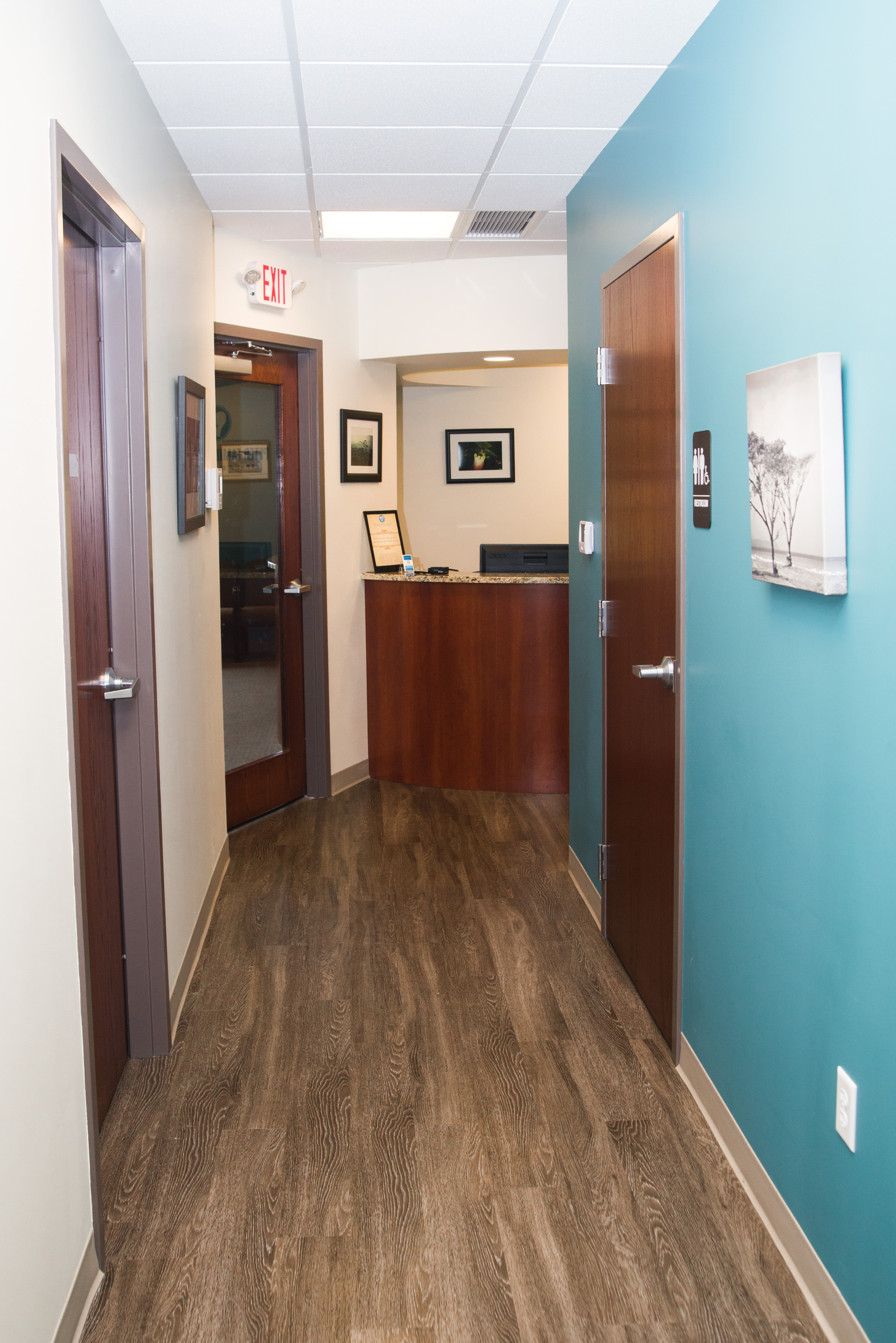 Open Hallway At Peter Family Dentistry